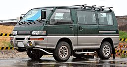 Japanese Imported People Mover - Mitsubishi Delica